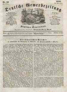 Deutsche Gewerbezeitung und Sächsisches Gewerbeblatt, Jahrg. XIV, Freitag, 12. Oktober, nr 82.