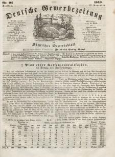 Deutsche Gewerbezeitung und Sächsisches Gewerbeblatt, Jahrg. XIV, Dienstag, 27. November, nr 95.