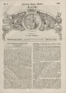 Deutsche Gewerbezeitung und Sächsisches Gewerbeblatt, 1864, Jahrg. XXIX, nr 5.