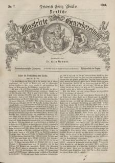 Deutsche Gewerbezeitung und Sächsisches Gewerbeblatt, 1864, Jahrg. XXIX, nr 7.