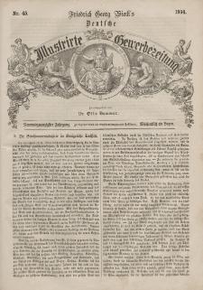 Deutsche Gewerbezeitung und Sächsisches Gewerbeblatt, 1864, Jahrg. XXIX, nr 45.