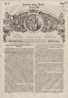 Deutsche Illustrirte Gewerbezeitung, 1866. Jahrg. XXXI, nr 5.