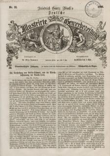 Deutsche Illustrirte Gewerbezeitung, 1866. Jahrg. XXXI, nr 21.
