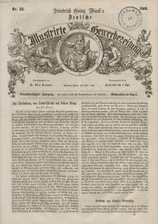 Deutsche Illustrirte Gewerbezeitung, 1866. Jahrg. XXXI, nr 22.