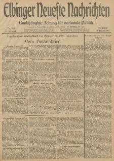Elbinger Neueste Nachrichten, Nr. 48 Dienstag 18 Februar 1913 65. Jahrgang