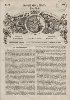 Deutsche Illustrirte Gewerbezeitung, 1866. Jahrg. XXXI, nr 40.