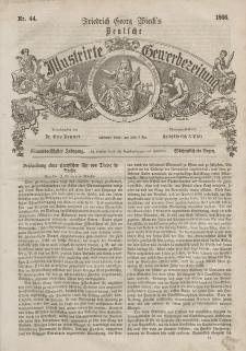 Deutsche Illustrirte Gewerbezeitung, 1866. Jahrg. XXXI, nr 44.