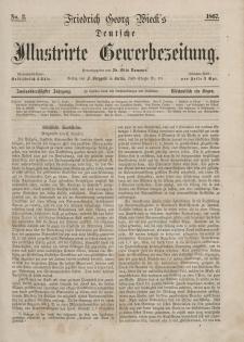 Deutsche Illustrirte Gewerbezeitung, 1867. Jahrg. XXXII, nr 2.