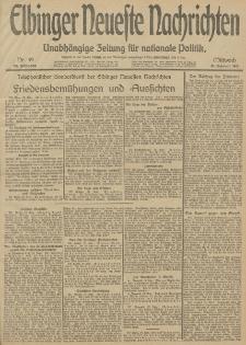 Elbinger Neueste Nachrichten, Nr. 49 Mittwoch 19 Februar 1913 65. Jahrgang
