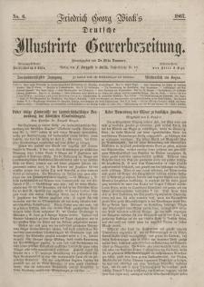 Deutsche Illustrirte Gewerbezeitung, 1867. Jahrg. XXXII, nr 6.