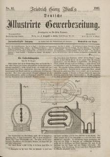 Deutsche Illustrirte Gewerbezeitung, 1867. Jahrg. XXXII, nr 12.