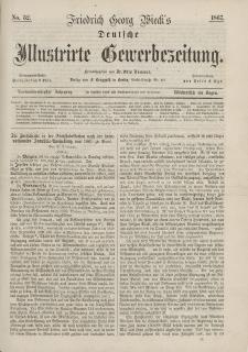 Deutsche Illustrirte Gewerbezeitung, 1867. Jahrg. XXXII, nr 32.