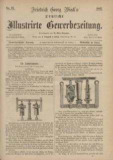 Deutsche Illustrirte Gewerbezeitung, 1867. Jahrg. XXXII, nr 37.