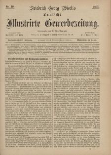 Deutsche Illustrirte Gewerbezeitung, 1867. Jahrg. XXXII, nr 39.