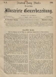 Deutsche Illustrirte Gewerbezeitung, 1869. Jahrg. XXXIV, nr 2.