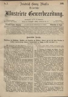 Deutsche Illustrirte Gewerbezeitung, 1869. Jahrg. XXXIV, nr 7.
