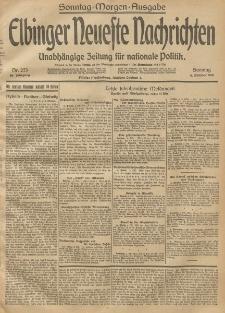 Elbinger Neueste Nachrichten, Nr. 273 Sonntag 5 Oktober 1913 65. Jahrgang