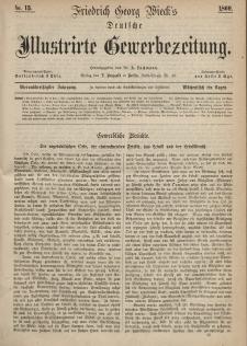 Deutsche Illustrirte Gewerbezeitung, 1869. Jahrg. XXXIV, nr 15.