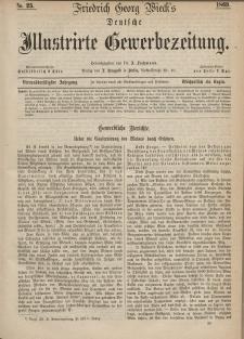 Deutsche Illustrirte Gewerbezeitung, 1869. Jahrg. XXXIV, nr 25.