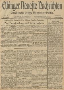 Elbinger Neueste Nachrichten, Nr. 55 Dienstag 25 Februar 1913 65. Jahrgang