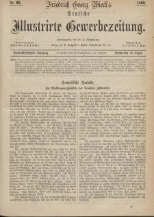 Deutsche Illustrirte Gewerbezeitung, 1869. Jahrg. XXXIV, nr 30.