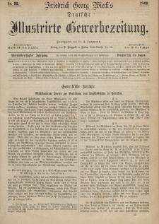 Deutsche Illustrirte Gewerbezeitung, 1869. Jahrg. XXXIV, nr 32.