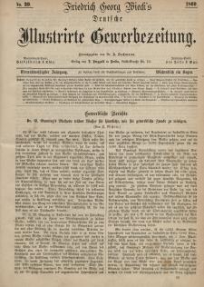 Deutsche Illustrirte Gewerbezeitung, 1869. Jahrg. XXXIV, nr 39.