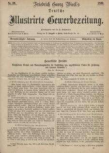 Deutsche Illustrirte Gewerbezeitung, 1869. Jahrg. XXXIV, nr 40.