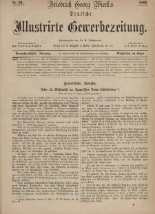 Deutsche Illustrirte Gewerbezeitung, 1869. Jahrg. XXXIV, nr 49.