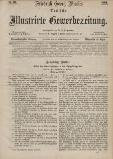 Deutsche Illustrirte Gewerbezeitung, 1869. Jahrg. XXXIV, nr 50.