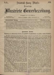 Deutsche Illustrirte Gewerbezeitung, 1870. Jahrg. XXXV, nr 3.