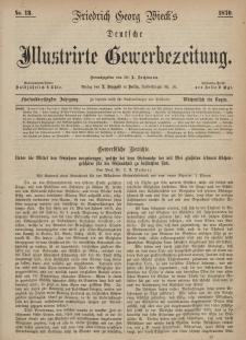 Deutsche Illustrirte Gewerbezeitung, 1870. Jahrg. XXXV, nr 13.