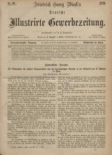 Deutsche Illustrirte Gewerbezeitung, 1870. Jahrg. XXXV, nr 16.