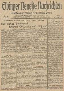 Elbinger Neueste Nachrichten, Nr. 58 Freitag 28 Februar 1913 65. Jahrgang