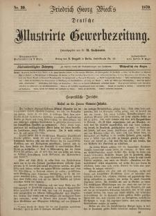 Deutsche Illustrirte Gewerbezeitung, 1870. Jahrg. XXXV, nr 39.