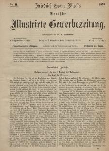 Deutsche Illustrirte Gewerbezeitung, 1870. Jahrg. XXXV, nr 44.