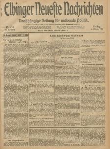 Elbinger Neueste Nachrichten, Nr. 278 Freitag 10 Oktober 1913 65. Jahrgang