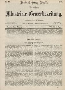 Deutsche Illustrirte Gewerbezeitung, 1870. Jahrg. XXXV, nr 49.