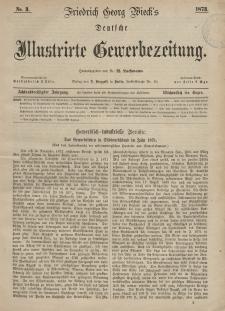 Deutsche Illustrirte Gewerbezeitung, 1873. Jahrg. XXXVIII, nr 3.