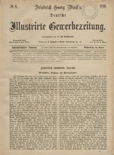 Deutsche Illustrirte Gewerbezeitung, 1873. Jahrg. XXXVIII, nr 4.