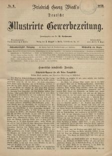 Deutsche Illustrirte Gewerbezeitung, 1873. Jahrg. XXXVIII, nr 6.