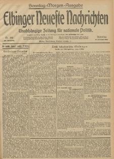 Elbinger Neueste Nachrichten, Nr. 280 Sonntag 12 Oktober 1913 65. Jahrgang