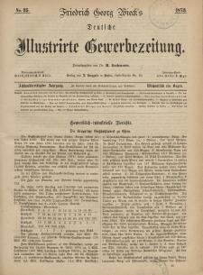 Deutsche Illustrirte Gewerbezeitung, 1873. Jahrg. XXXVIII, nr 25.