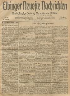 Elbinger Neueste Nachrichten, Nr. 281 Montag 13 Oktober 1913 65. Jahrgang