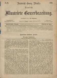 Deutsche Illustrirte Gewerbezeitung, 1873. Jahrg. XXXVIII, nr 31.