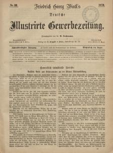Deutsche Illustrirte Gewerbezeitung, 1873. Jahrg. XXXVIII, nr 32.