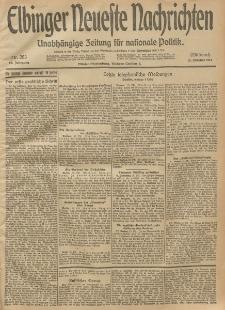 Elbinger Neueste Nachrichten, Nr. 283 Mittwoch 15 Oktober 1913 65. Jahrgang