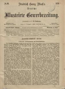 Deutsche Illustrirte Gewerbezeitung, 1873. Jahrg. XXXVIII, nr 52.