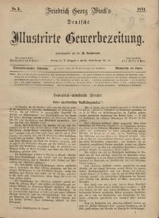 Deutsche Illustrirte Gewerbezeitung, 1874. Jahrg. XXXIX, nr 5.