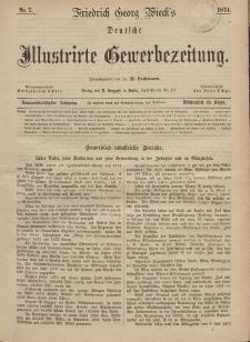 Deutsche Illustrirte Gewerbezeitung, 1874. Jahrg. XXXIX, nr 7.